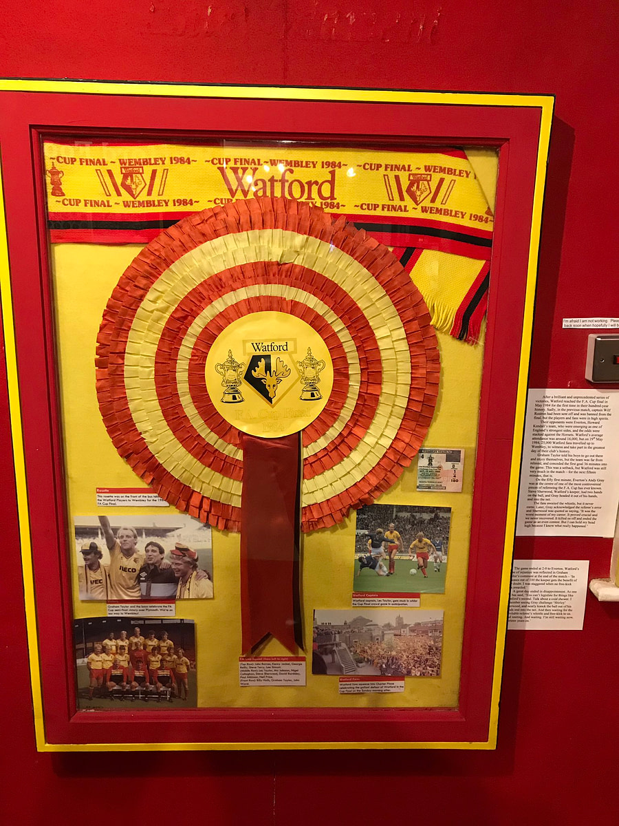 LGBT History Month Social Evening at Watford Museum rosette