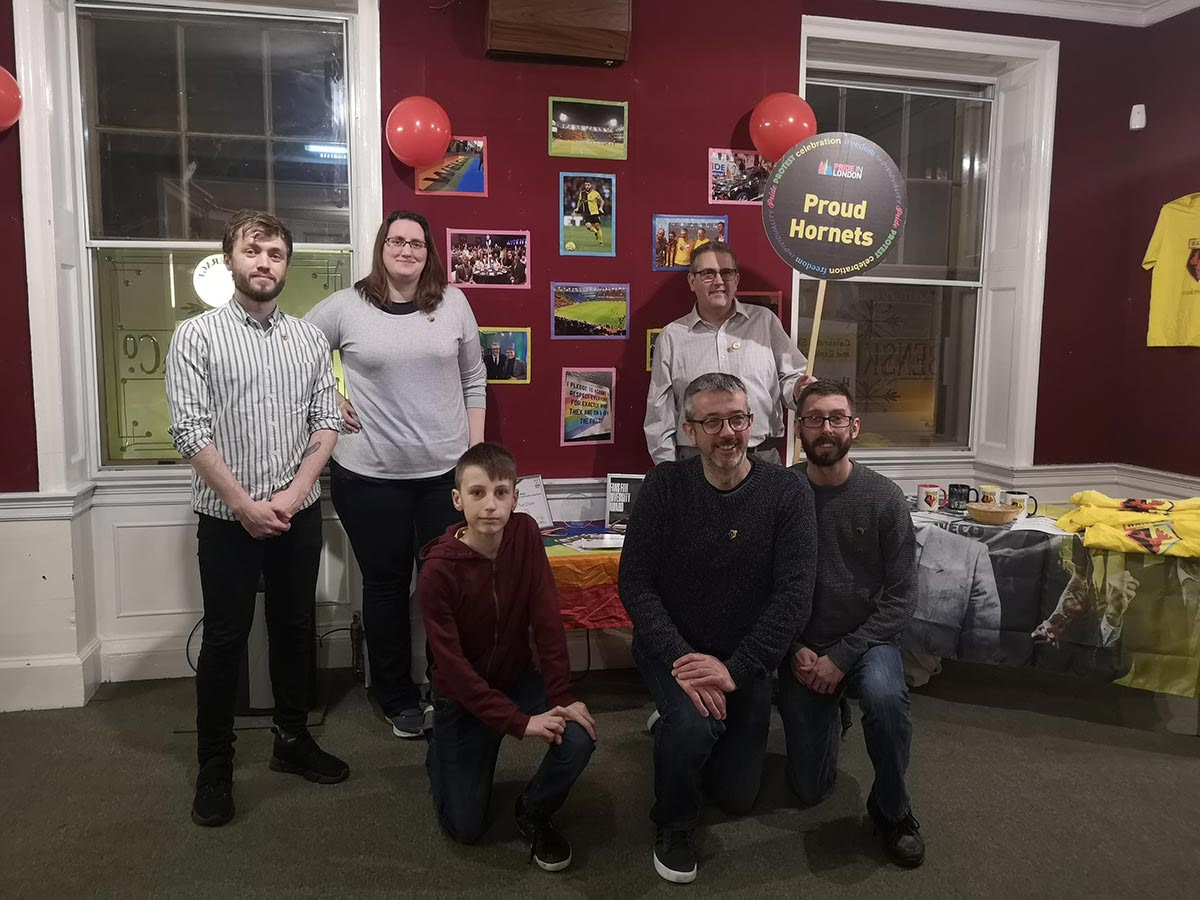 LGBT History Month Social Evening at Watford Museum group web