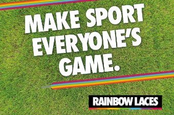 About Us rainbow laces