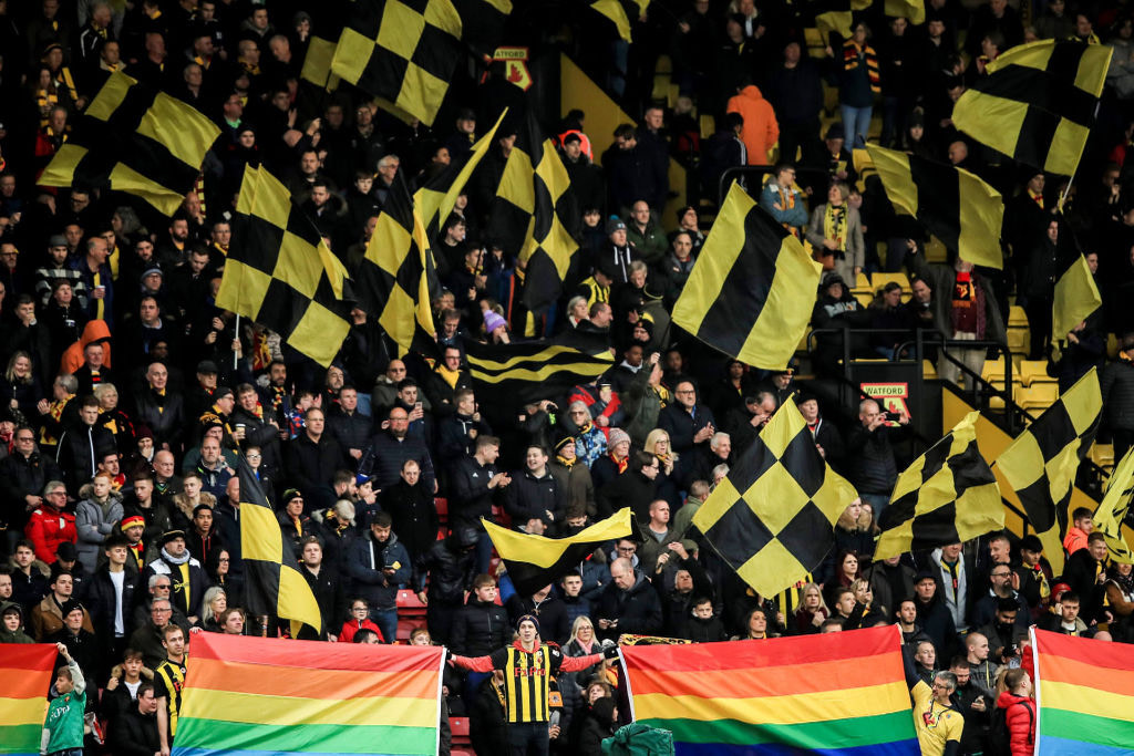 Rainbow Laces 2019 rookery flags
